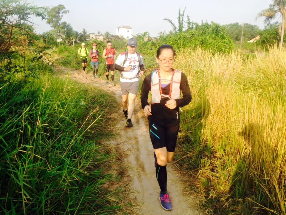 Ngoài chạy road, chạy địa hình được các nhóm chạy tổ chức đều đặn hàng tháng (Ảnh: SRC)
