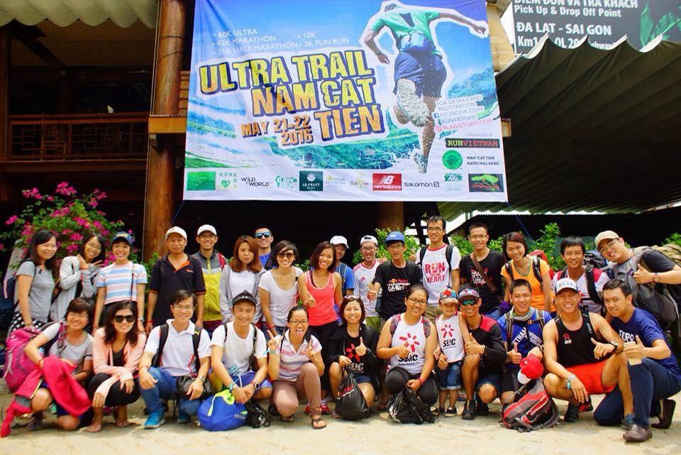 Ngày càng nhiều runner Việt tham gia các giải chạy trail (Ảnh: Ultra Trail Nam Cat Tien)