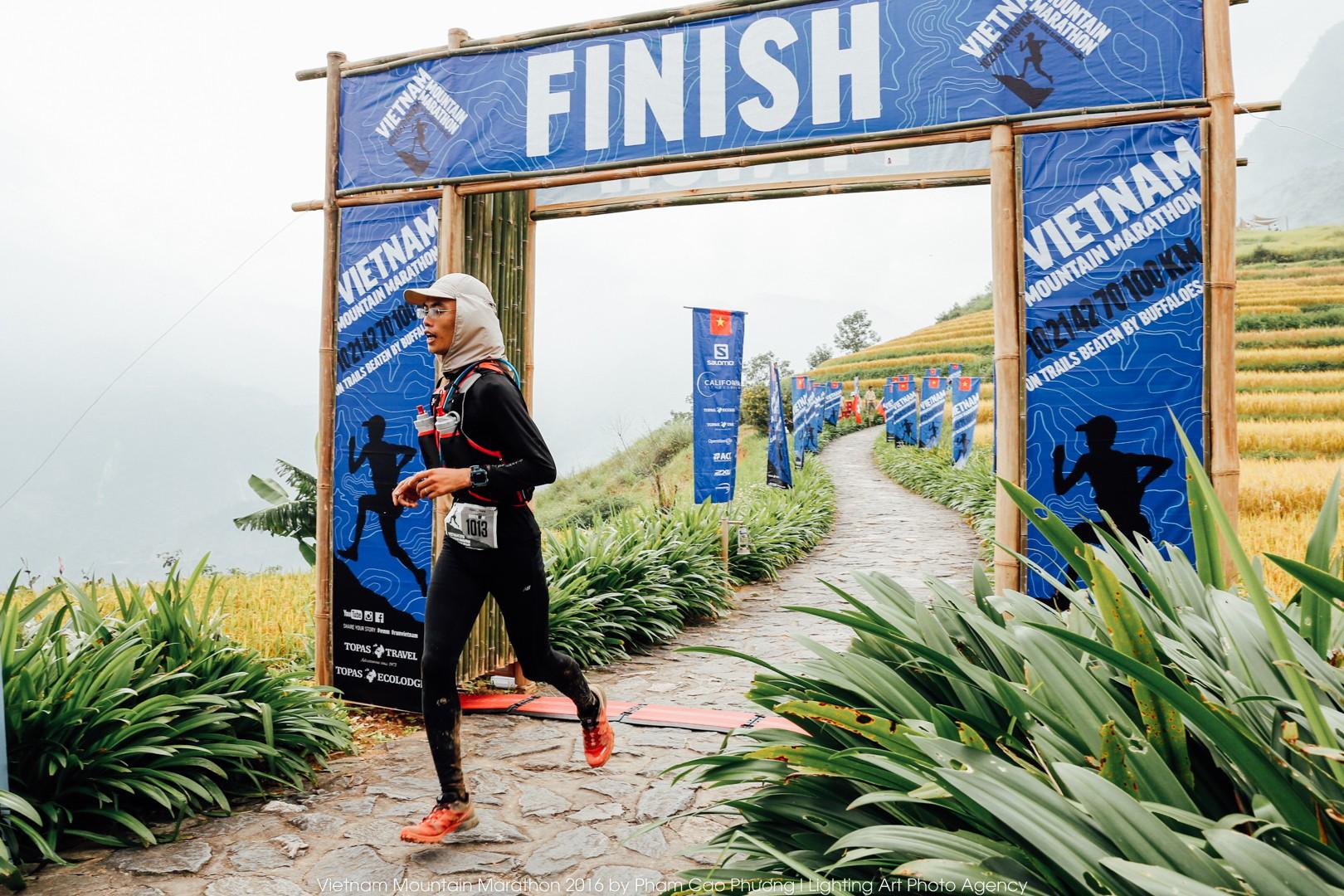 Cao Ngọc Hà, VĐV Việt Nam đạt giải Nhì 100km sau 15 giờ 36 phút