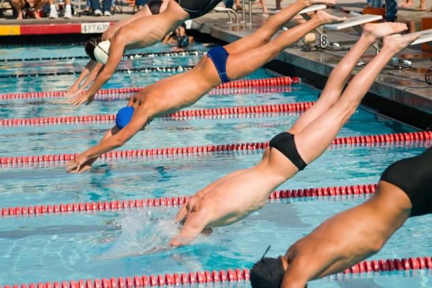 Bơi lội là môn thể thao ít gây chấn thương nhất