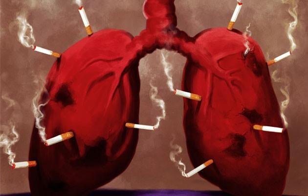 Thuốc lá làm suy giảm chức năng phổi của VĐV