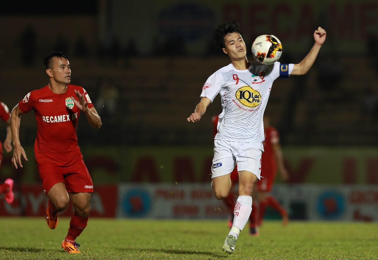 hình ảnh: Trực tiếp bóng đá: Hoàng Anh Gia Lai - B. Bình Dương