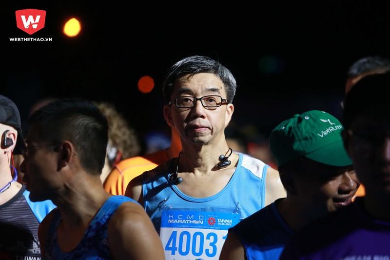 Hay cũng có không ít runner ngoài 50 tuổi đã quyết định thách thức bản thân mình với cự ly này.