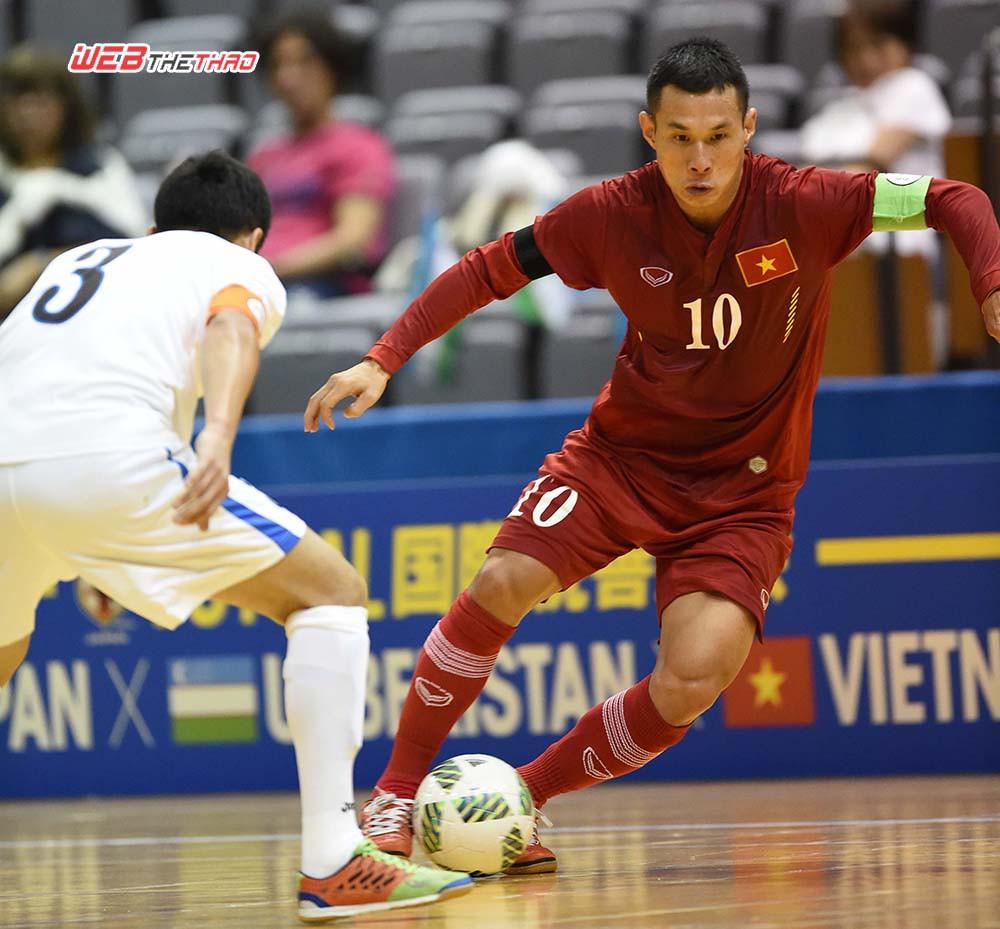 Nguyễn Bảo Quân thể hiện khá tốt ở giai đoạn lượt đi giải Futsal VĐQG 2016 trong màu áo Thái Sơn Nam.
