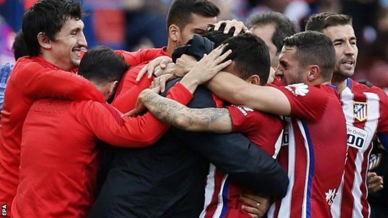 Atletico Madrid của Simeone có lối chơi khó chịu