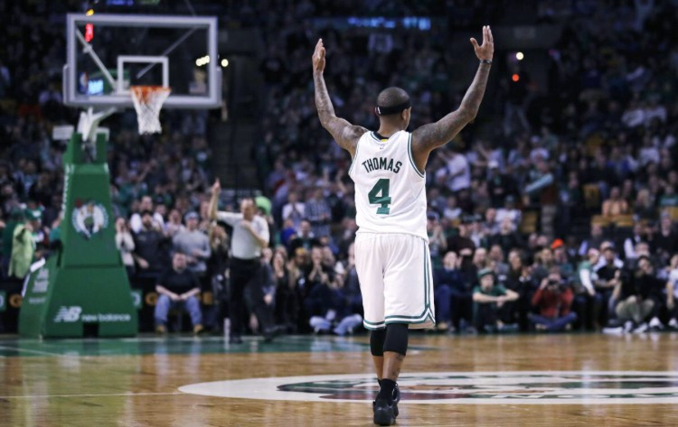 Tin NBA ngày 4/1: Thomas nhận được sự cảm giác chào đón như khi anh còn khoác áo Celtics.