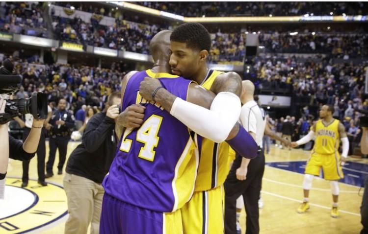 Tin NBA ngày 4/1: George bày tỏ sự trân trọng tới huyền thoại Kobe Bryant của Lakers.