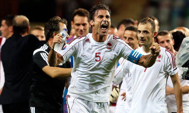 ĐT Albania lần đầu tiên dự EURO: Nghèo nhưng không hèn