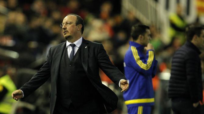 Real Madrid sa thải Benitez
