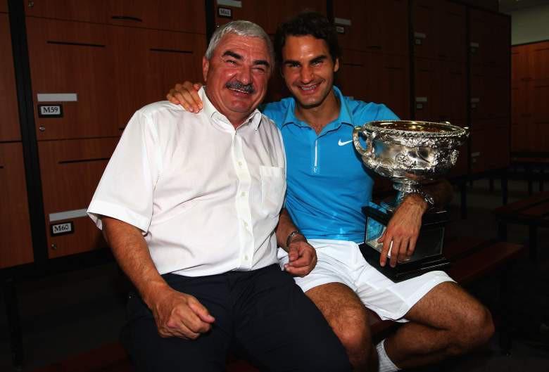 Roger Federer thành công nhờ cha mẹ