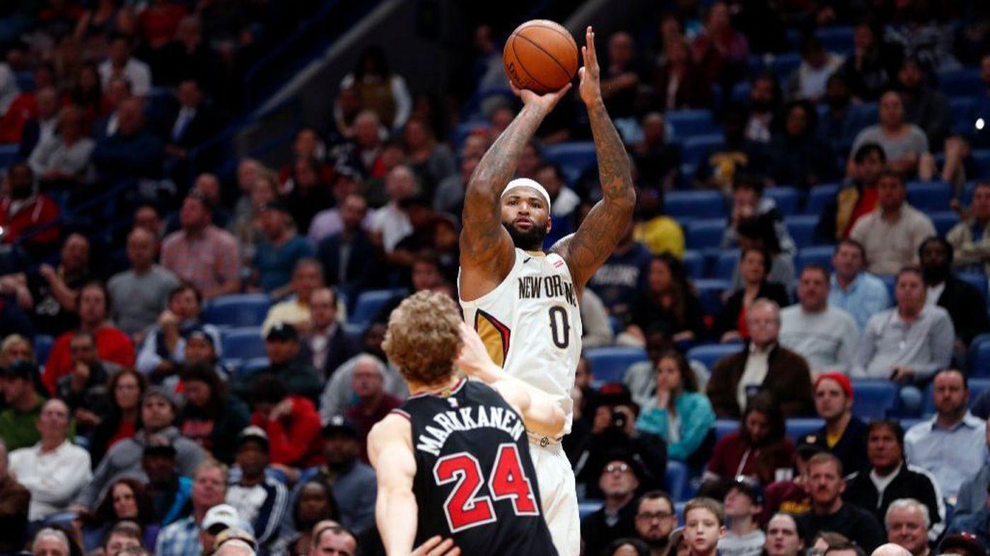 Tin NBA ngày 23/1: Pelicans thắng lợi còn Cousins lập một thành tích lịch sử mới.