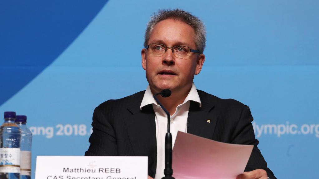 Matthieu Reeb, Tổng thư ký CAS thông báo quyết định dỡ bỏ lệnh cấm tham dự Olympic suốt đời đối với 15 VĐV Nga
