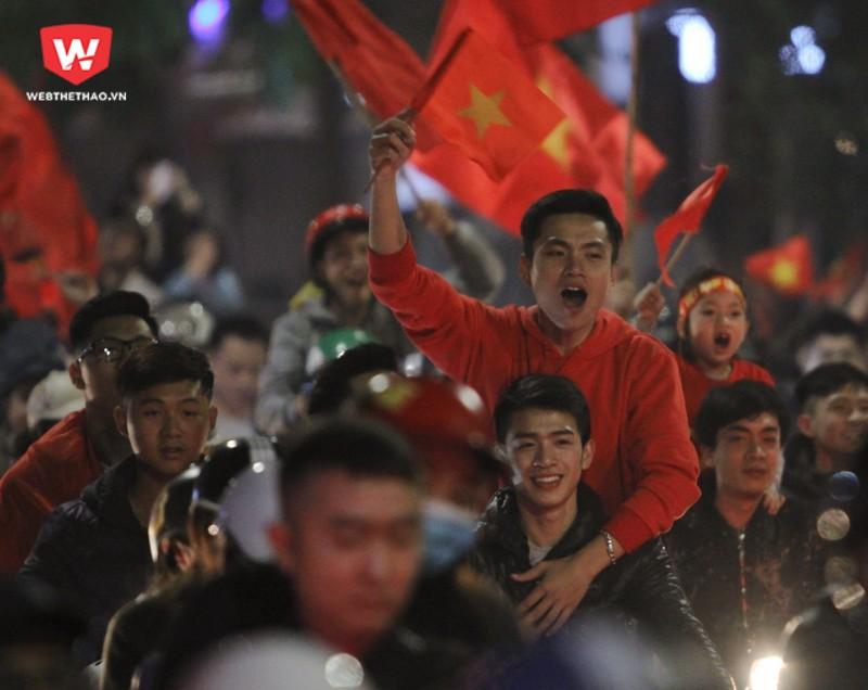 Người hâm mộ có thể được gặp các cầu thủ U23 Việt Nam từ trưa 28/1. Hình ảnh: Trung Thu.