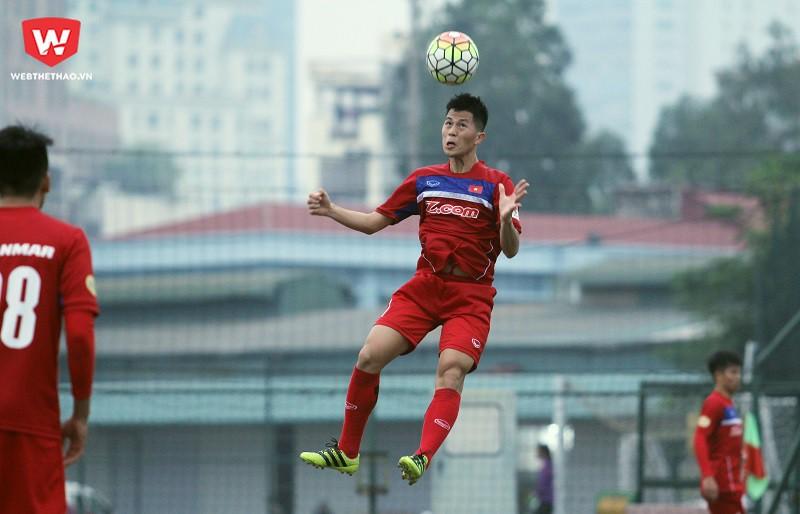 U23 Việt Nam sẽ chỉ tập một buổi vào chiều mai (29/12). Buổi sáng toàn đội sẽ có lễ xuất quân hướng tới VCK U23 châu Á 2018 tại trụ sở Liên đoàn bóng đá Việt Nam (VFF). Hình ảnh: Trung Thu.