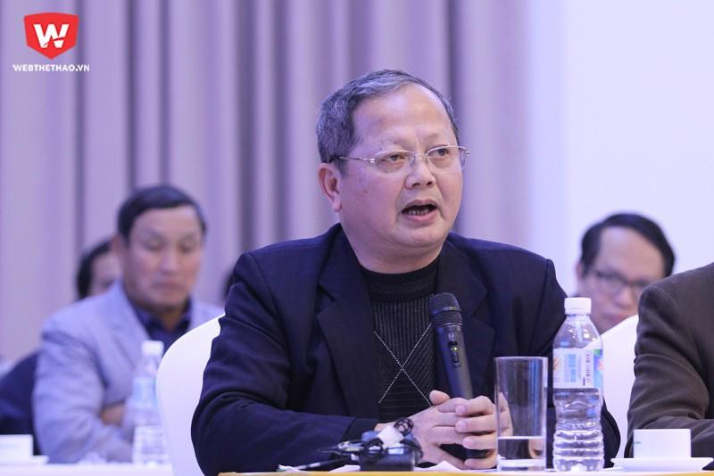 Ông Hà Quang Dự - Nguyên Bộ trưởng - Chủ nhiệm Ủy ban TDTT. Hình ảnh: Trung Thu.