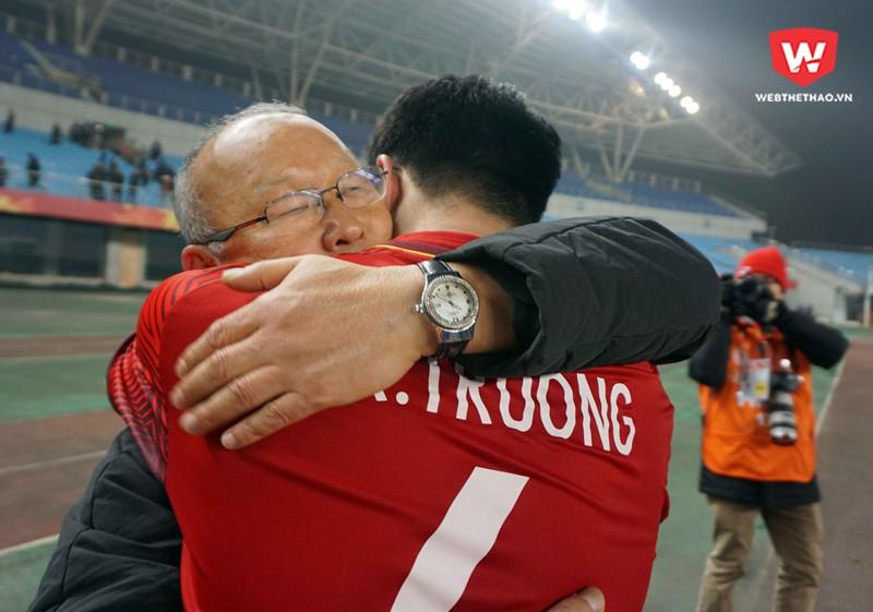 HLV Lê Thụy Hải khẳng định ông Park Hang Seo rất giỏi sau thành công cùng U23 Việt Nam. Hình ảnh: Anh Khoa.