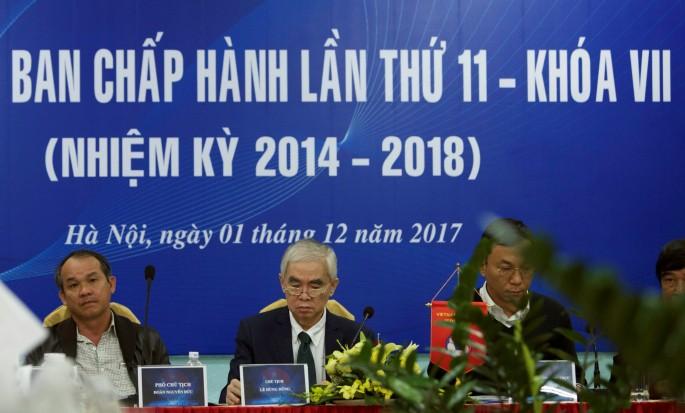 Những vấn đề liên quan đến VFF, cơ quan đầu não của bóng đá Việt Nam chắc chắn sẽ được mổ xẻ ở buổi đối thoại chiều 13/1. Hình ảnh: Trung Thu.