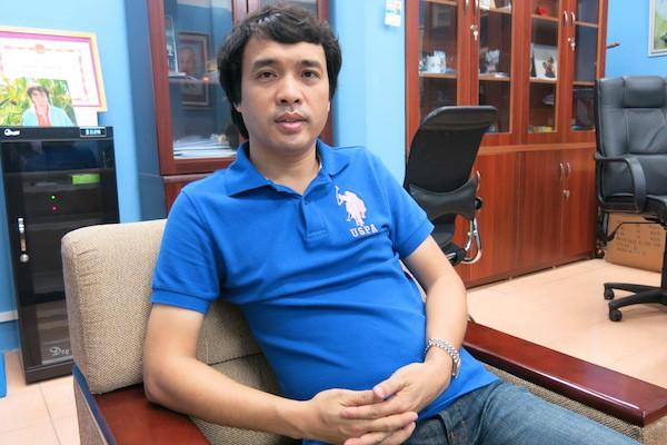 Trưởng Ban thể thao VTV, ông Phan Ngọc Tiến, khẳng định việc V.League 2018 có được phát sóng hay không phụ thuộc vào VPF và Next Media giải quyết xong tranh chấp. Hình ảnh: VTV.vn