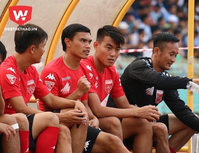Phan Văn Tài Em chính thức rời CLB Long An để đến Sài Gòn FC làm HLV trưởng. Hình ảnh: Quang Thịnh.