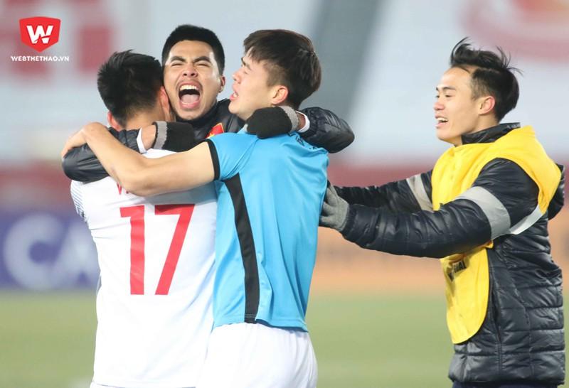 Các cầu thủ U23 Việt Nam sẽ trở về nước bằng chuyên cơ riêng của Hãng hàng không Vietjet Air. Hình ảnh: Anh Khoa.