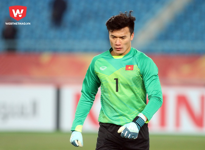 Trở về CLB từ U23 Việt Nam, Bùi Tiến Dũng ngay lập tức được trọng dụng. Hình ảnh: Anh Khoa.
