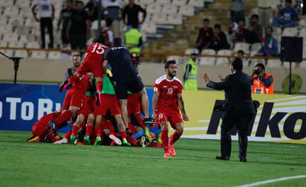 ''Vũ khí'' lớn nhất của U23 Syria giống như nhiều đội tuyển khác của nước này là tinh thần.