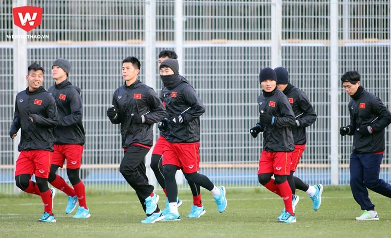 Công Phượng và các đồng đội đã có một trận thi đấu quả cảm trước U23 Hàn Quốc.
