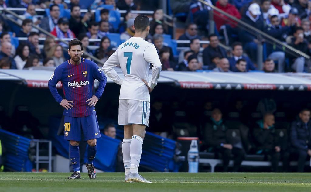 Hình ảnh: Messi ghi nhiều bàn gấp 4 lần Ronaldo ở La Liga
