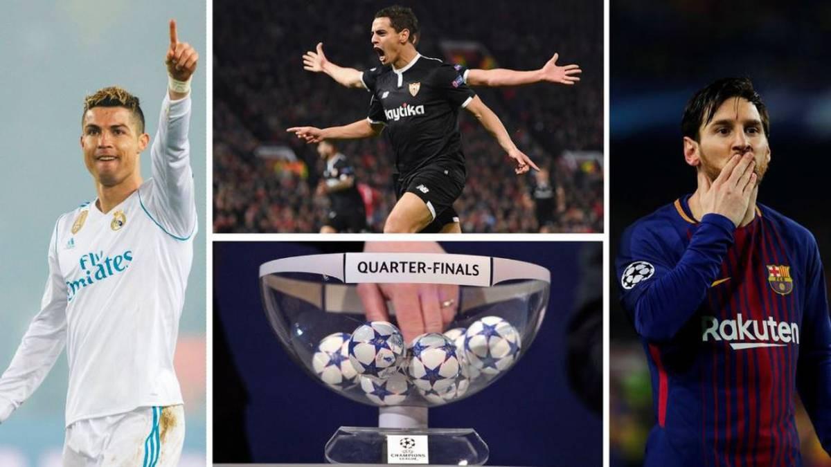 Hình ảnh: Real, Barca và Sevilla đại diện có Tây Ban Nha ở tứ kết mùa này