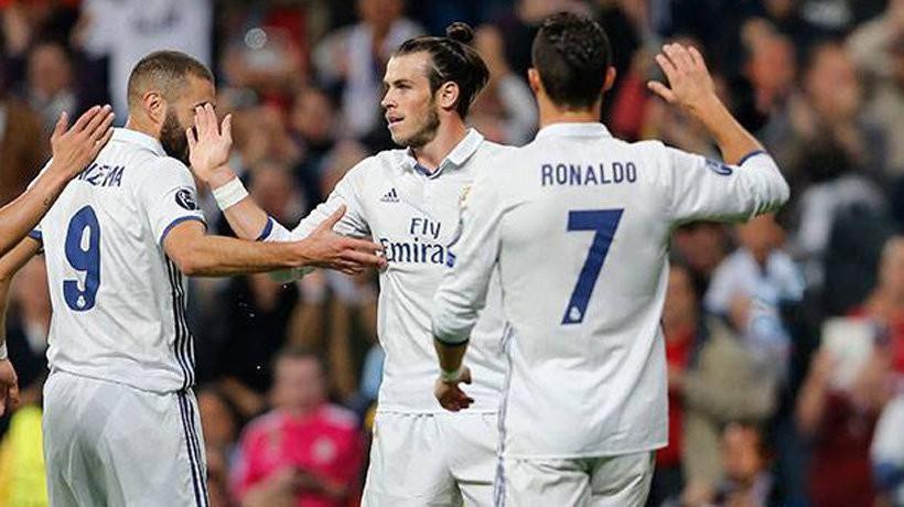 Hình ảnh: BBC đã không chơi cùng nhau ở đội hình chính trong 9 tháng qua