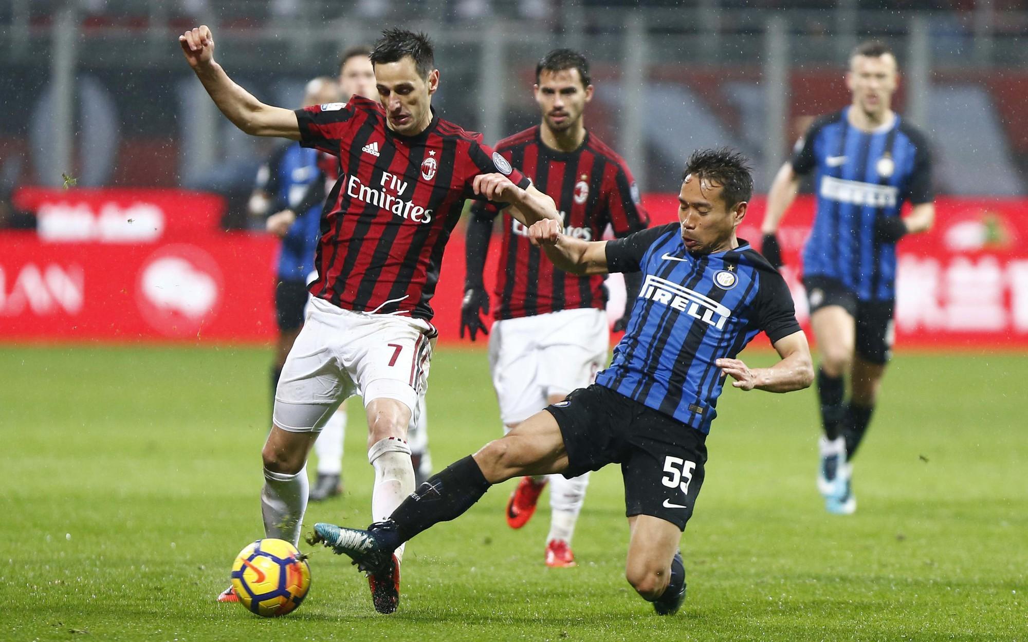 Hình ảnh: Milan và Inter tạo nhiều cơ hội nhưng không ghi được bàn thắng trong 90 phút