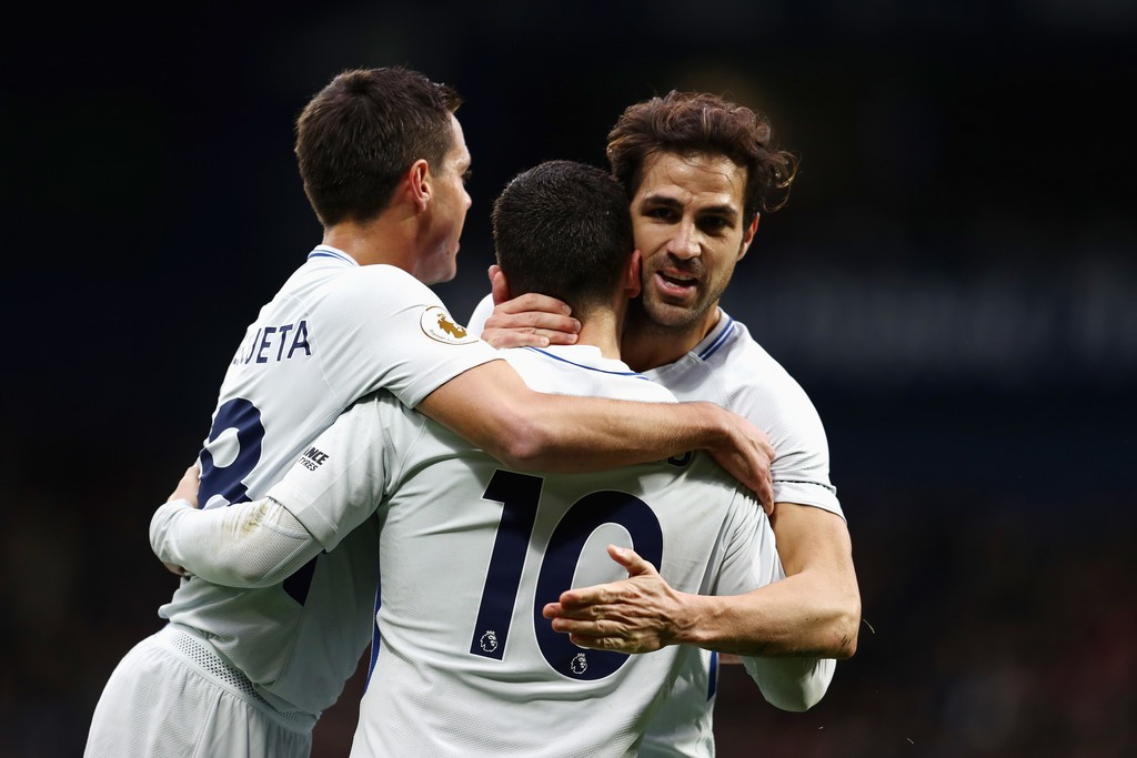 Hình ảnh: Sự sáng tạo của Chelsea đang phụ thuộc vào Fabregas, Hazard và các đồng đội