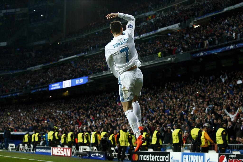 Hình ảnh: Ronaldo đang dẫn đầu danh sách ghi bàn tại Champions League