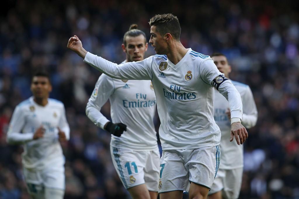 Hình ảnh: Ronaldo vừa ghi bàn thứ 299 và 300 tại Liga