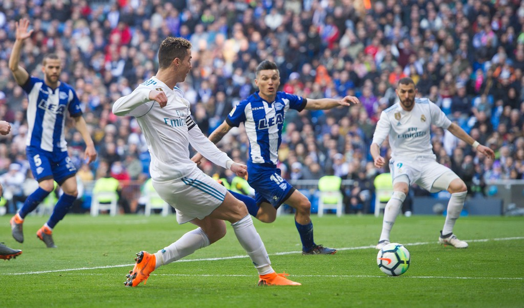 Hình ảnh: Ronaldo có 13 bàn trong 6 trận trước Getafe tại Bernabeu