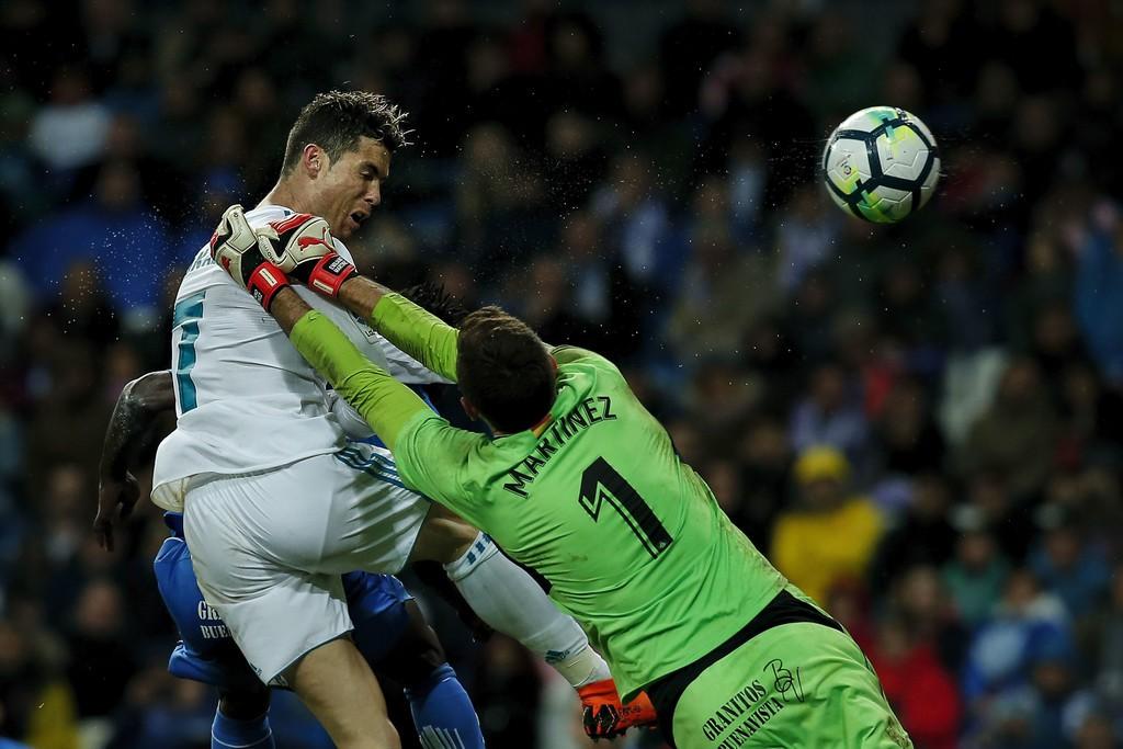Hình ảnh: Ronaldo bùng nổ ở giai đoạn konock-out Champions League mùa trước
