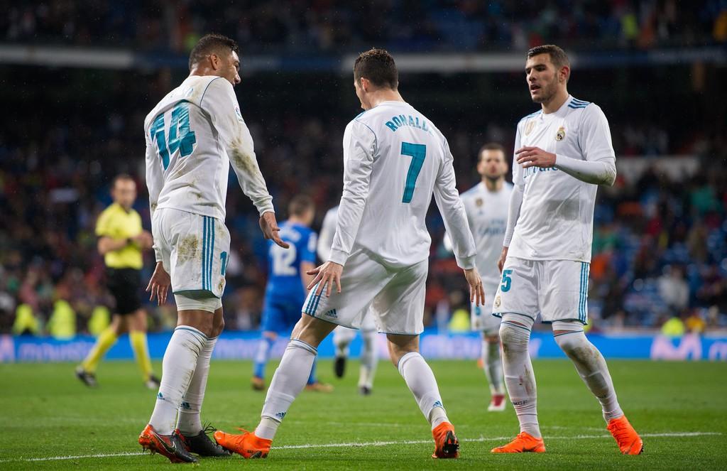 Hình ảnh: HLV Zidane giữ sức cho Ronaldo giống như mùa trước