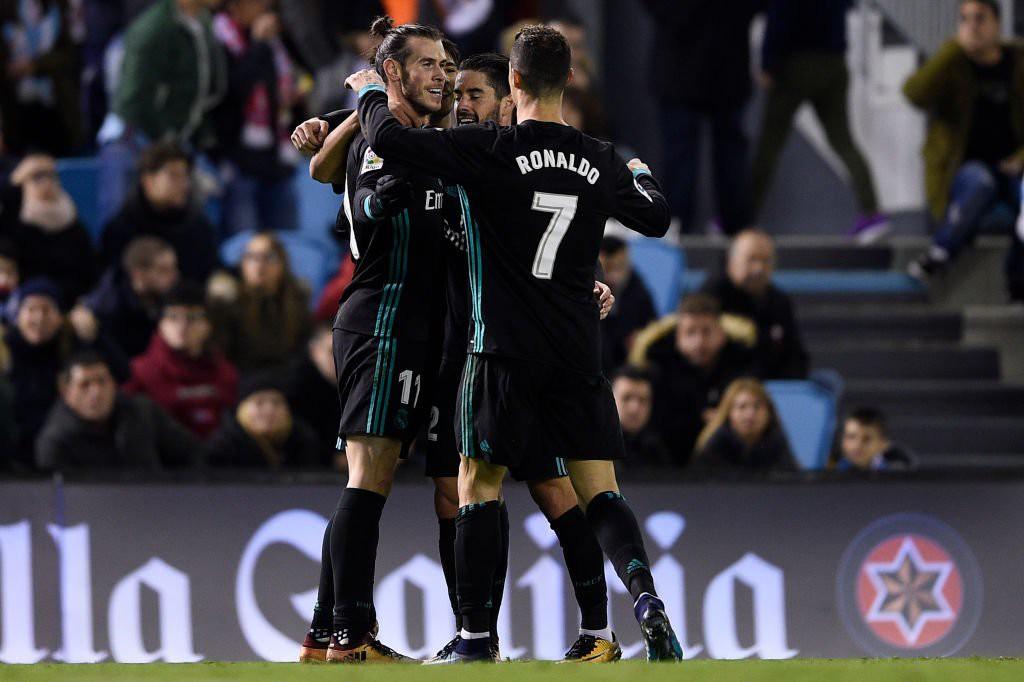 Hình ảnh: Bale lập cú đúp nhưng không thể giúp Real thắng