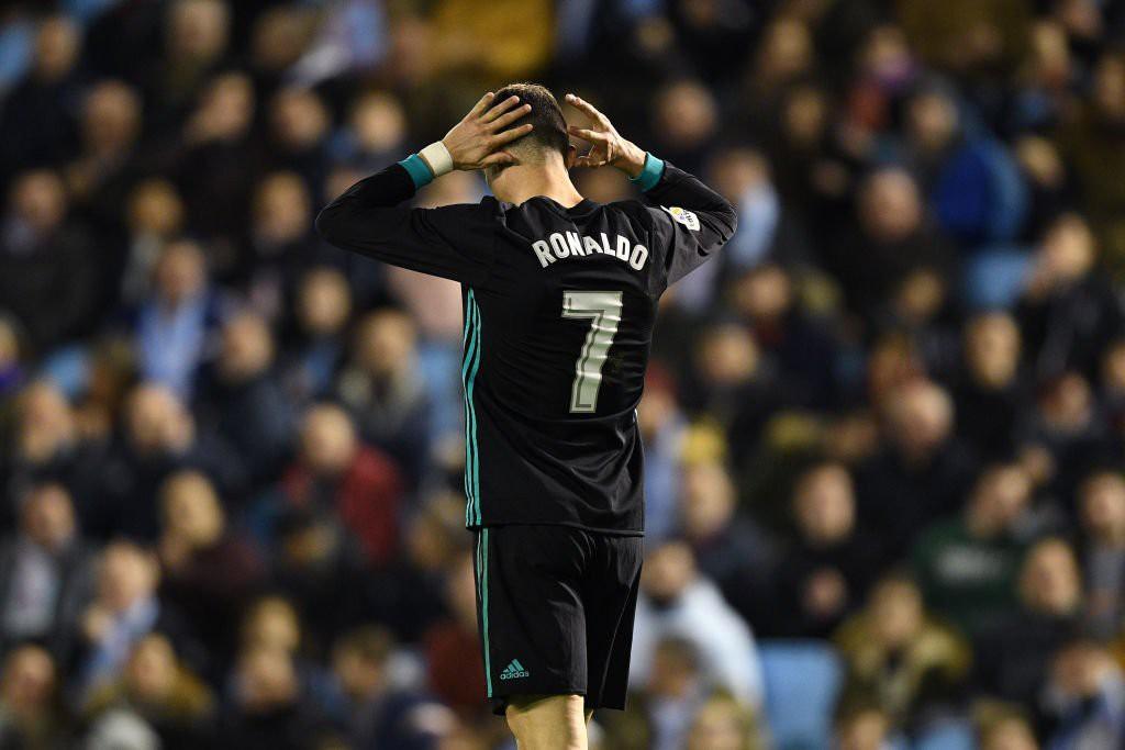 Hình ảnh: Ronaldo không hiệu quả trong trận đấu này