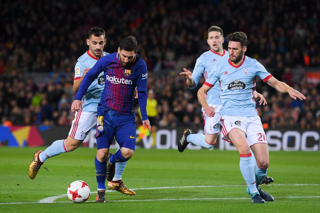 Hình ảnh: Messi ghi bàn chỉ trong 2 phút