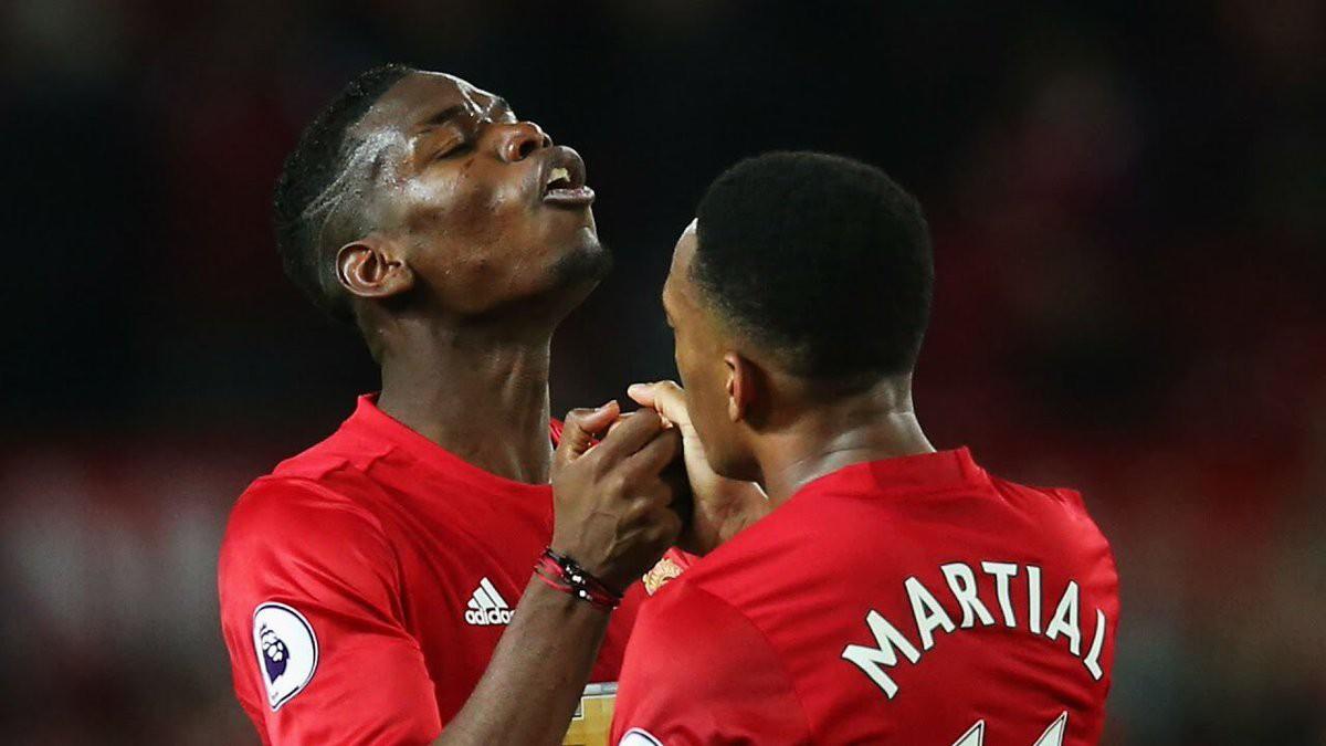 Hình ảnh: Pogba kiến tạo 2 bàn cho Man Utd