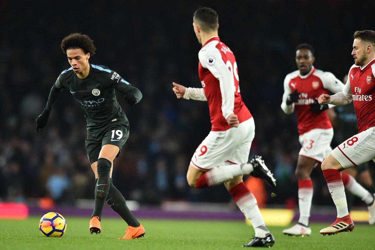 Hình ảnh: Man City toàn thắng 3 trận trước Arsenal mùa này