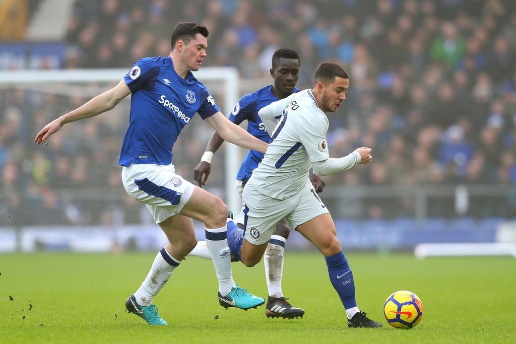 Hình ảnh: Hazard là 1 trong 3 số 10 của Chelsea trước Everton