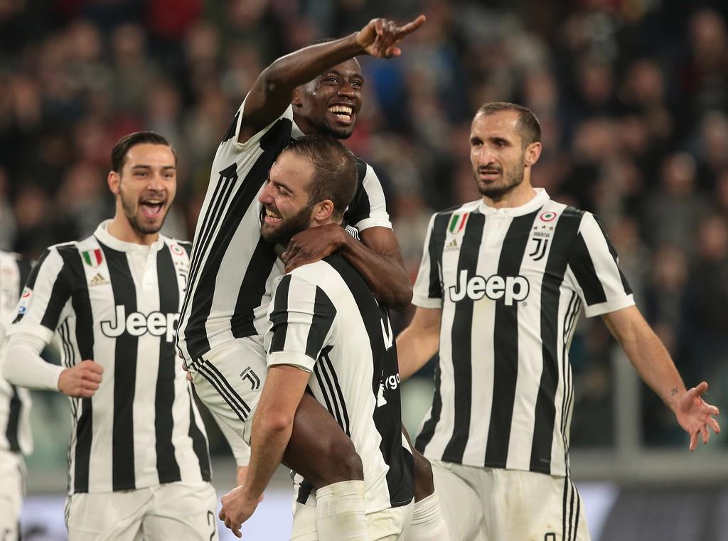 Hình ảnh: Higuain ghi 5 bàn cho Juventus