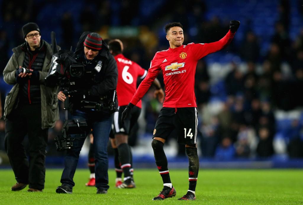 Hình ảnh: Lingard liên tục ghi bàn ở những trận gần đây