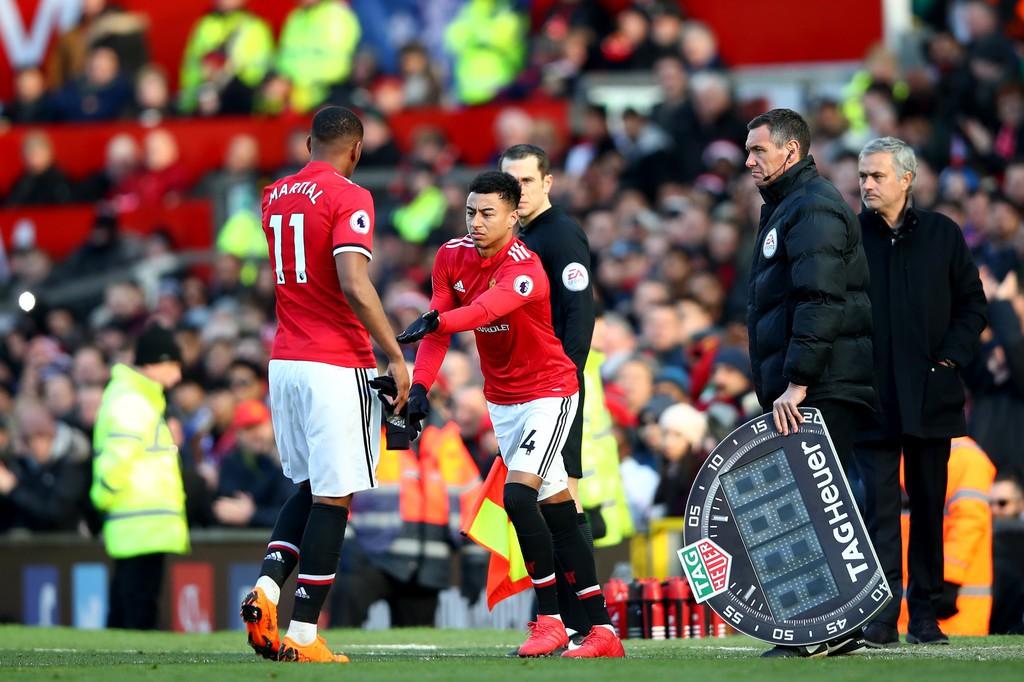 Hình ảnh: Việc đưa Lingard vào thay Martial đã tạo bước ngoặt cho MU