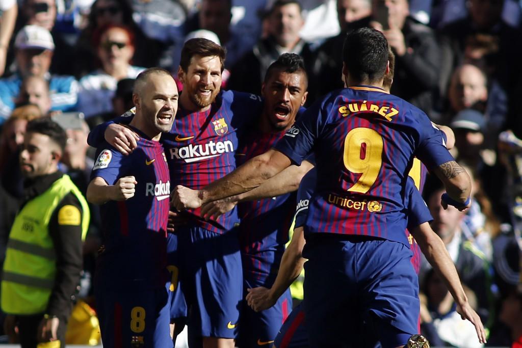 Hình ảnh: Messi thực hiện thành công quả penalty trước Real