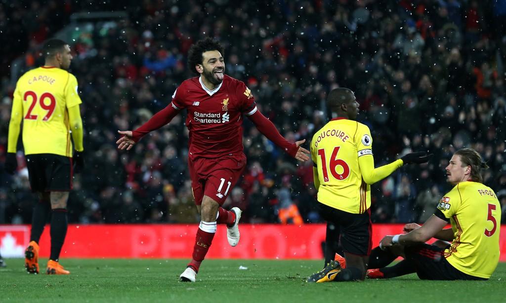 Hình ảnh: Salah bỏ xa Kane với 28 bàn ở Premier League
