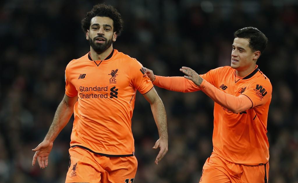Hình ảnh: Salah ghi bàn thứ 15 tại Premier League