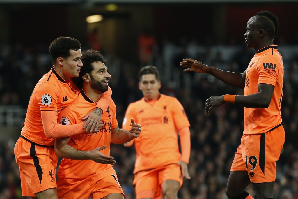 Hình ảnh: Liverpool dẫn 2 bàn ngay tại Emirates